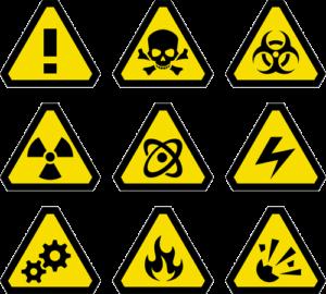 sicherheitshinweise symbole richtig darstellen