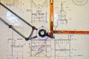 Reißbrett Technische Zeichnung