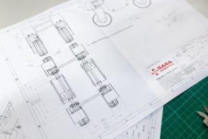 technische dokumentation illustration
