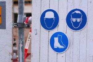 sicherheitshinweise arbeit