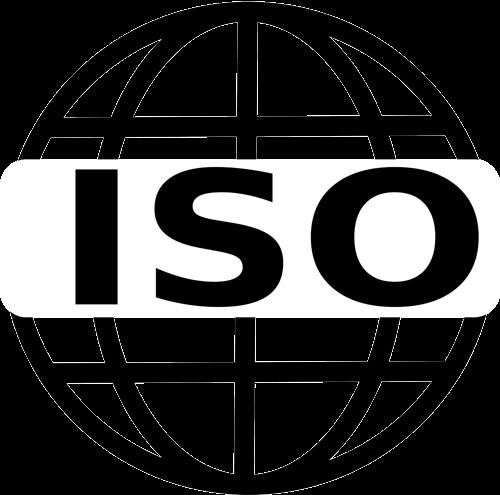 Logo der ISO, einer Organisation für technische Normen